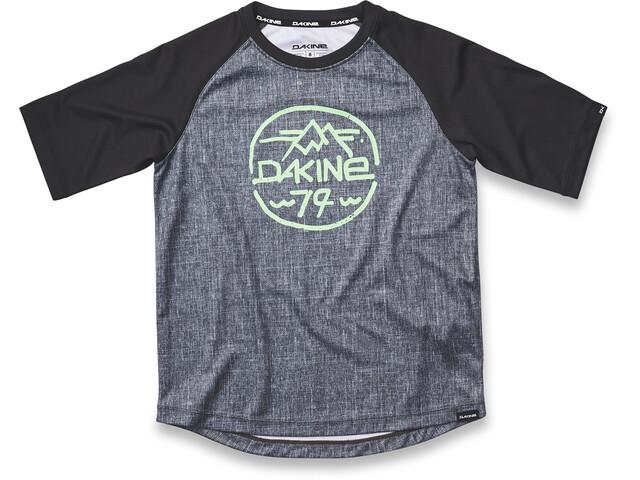 Dakine Dropout S/S Jersey Kids Carbon/Black